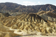Côtes de Death Valley photos stock