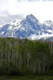 Côtes et montagnes images stock
