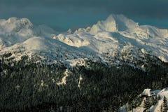 côtes neigeuses Photographie stock libre de droits