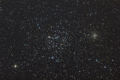 Cúmulos de estrellas M35 Foto de archivo