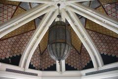 Cúpula con la decoración geométrica Foto de archivo libre de regalías