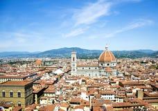 A cúpula de Brunelleschi Fotografia de Stock