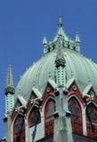 Cúpula de la iglesia de la trinidad Imágenes de archivo libres de regalías