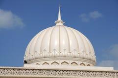 Cúpula de la mezquita, Sharja Foto de archivo libre de regalías