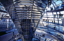 Cúpula de Reichstag, Berlín imagen de archivo libre de regalías