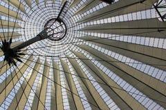 cúpula del Vidrio-metal Foto de archivo libre de regalías