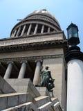 Cúpula e estátua Capitolio Fotos de Stock