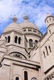 Cúpulas de Sacre-Coeur Foto de Stock