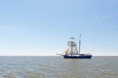 Cążki na holendera Wadden morzu Fotografia Royalty Free
