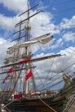 Cążki statek Obraz Royalty Free