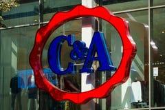 C和A商店 免版税库存图片