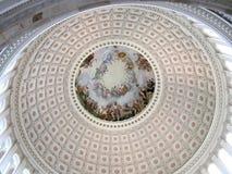 c国会大厦d圆形建筑的华盛顿 库存图片