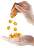 c新鲜的健康桔子样式维生素 图库摄影