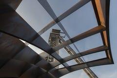 C矿在亨克,比利时 免版税库存照片