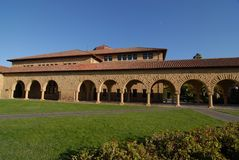 c纪念斯坦福大学 免版税库存图片