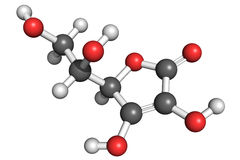 c结构维生素 库存图片