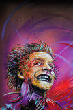 C215 κομμάτι γκράφιτι στο Όσλο στοκ εικόνα με δικαίωμα ελεύθερης χρήσης