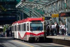 C-поезд, Калгари Стоковое Изображение RF