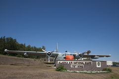 C-123费尔柴尔德提供者176th翼 库存图片