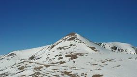 33c 1月横向俄国温度ural冬天 包括的山雪 股票录像