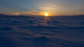 33c 1月横向俄国温度ural冬天 美好的日落在贝加尔湖 影视素材