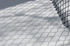 33c 1月横向俄国温度ural冬天 背景砖老纹理墙壁 阴影的反射在t的 图库摄影