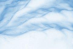 33c 1月横向俄国温度ural冬天 雪的纹理 免版税库存照片