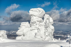 33c 1月横向俄国温度ural冬天 图库摄影
