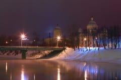33c 1月横向俄国温度ural冬天 Torzhok 俄国 库存图片