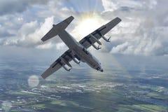 C-130泰国空军队 库存图片