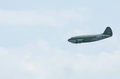 C-46特攻队老鹰乐队Airshow修补破铜铁者佳丽汇聚  图库摄影