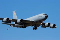 C-135罐车飞机法国空军 库存照片