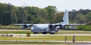 C-130赫拉克勒斯 免版税库存照片