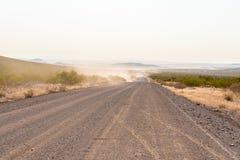 C40路的清早视图 库存图片