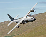 C-130 Геркулес Стоковое фото RF