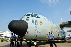 C-130 aircraft Stock Images