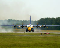 C-130 Fat Albert Stock Images