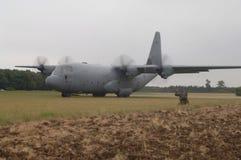 C-130 Hercule Images libres de droits