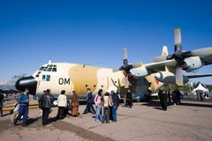 C-130 Hercules Stock Photography