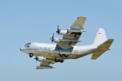 C-130 Hercules airplane US army Royalty Free Stock Photography