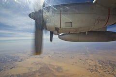 C-130 motor Royalty-vrije Stock Foto's