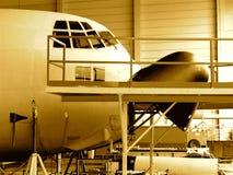 C-130 vliegtuig Belgisch leger stock foto