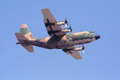 C-130H Hercules Transport Aircraft. During Airshow in Greece Stock Photos