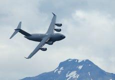 C-17 Globalmaster de Boeing - Foto de Stock Royalty Free