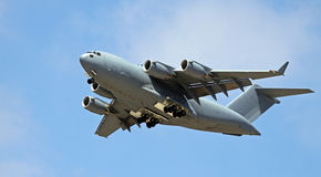 C-17 Globemaster. C-17 USA military transport cargo plane Stock Image