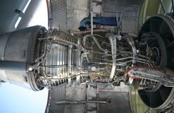 C-17 Military Aircraft Engine royalty free stock images