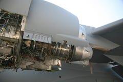 C-17 motor do avião militar do avião militar EngineC-17 Imagens de Stock Royalty Free