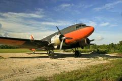 C-47军人运输 免版税库存照片