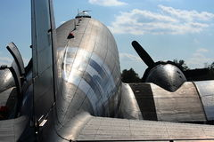 C-47 transporter Stock Images