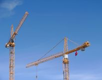 c 5 budowy crane Zdjęcia Stock
